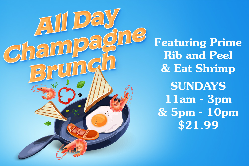 All Day Champagne Brunch